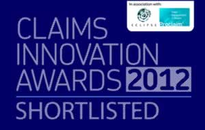 Claims Innovation Awards Shortlist Logo (2012)