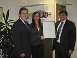 IIP Award Presentation with Mark Hunter