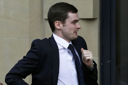 Adam Johnson at Court